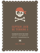 argh! pirates! Children's Birthday Party Invitations