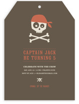 argh! pirates! Children&#039;s Birthday Party Invitations
