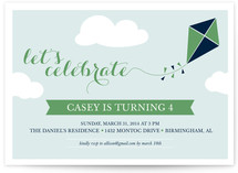 Kite Children&#039;s Birthday Party Invitations