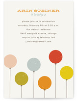 Colorful Balloons Children&#039;s Birthday Party Invitations