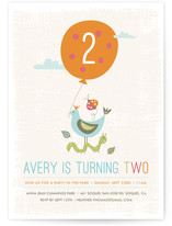 Park Party Children&#039;s Birthday Party Invitations