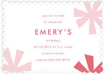 Sparkle Fête Children's Birthday Party Invitations