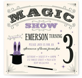 Magic Show Children&#039;s Birthday Party Invitations