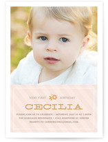 Cecilia Children's Birthday Party Invitations