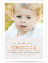 Cecilia Children&#039;s Birthday Party Invitations