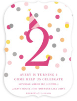 Confetti Fun Children's Birthday Party Invitations