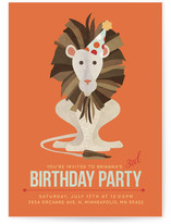 Roaring Good Time Children&#039;s Birthday Party Invitations