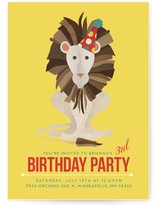 Roaring Good Time Children's Birthday Party Invitations