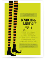Bewitched Children&#039;s Birthday Party Invitations