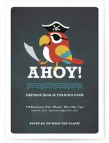 Yo Ho Ho! Children&#039;s Birthday Party Invitations