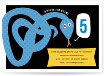 Snake Children&#039;s Birthday Party Invitations