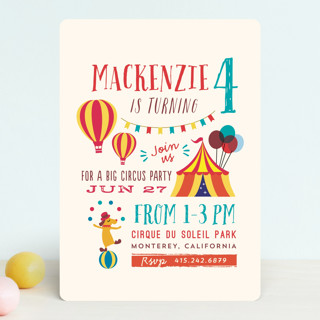 Fritelle Children's Birthday Party Invitations