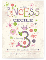 Our Little Princess Children's Birthday Party Invitations