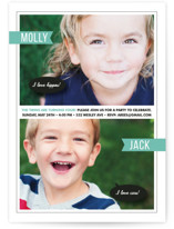 Twin Voice Children&#039;s Birthday Party Invitations