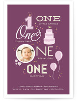 One Happy Day Children&#039;s Birthday Party Invitations