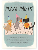Puppy Pizza Party by Stephanie Given