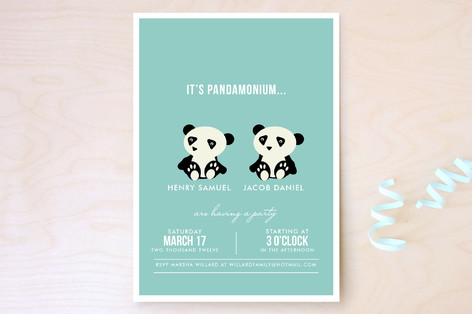 Pandamonium Children's Birthday Party