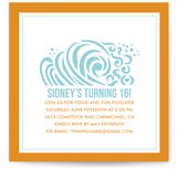 Ridin&#039; the Waves Children&#039;s Birthday Party Invitations