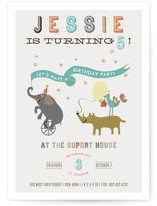 The Parade Children's Birthday Party Invitations