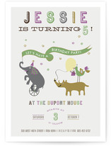 The Parade Children&#039;s Birthday Party Invitations