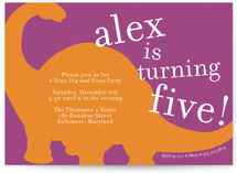 Bronto Party Children&#039;s Birthday Party Invitations