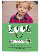 Look Children&#039;s Birthday Party Invitations