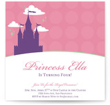 castle in the clouds Children&#039;s Birthday Party Invitations
