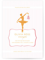 Ballet Children's Birthday Party Invitations