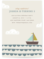 Little Explorer Children&#039;s Birthday Party Invitations