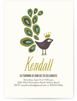 fanfare Children's Birthday Party Invitations