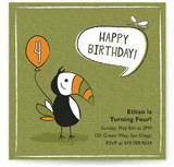 Jungle Jam Children's Birthday Party Invitations