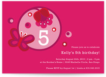 Tulipa Children&#039;s Birthday Party Invitations