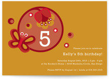 Tulipa Children's Birthday Party Invitations