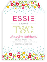 Spring Garden Children&#039;s Birthday Party Invitations