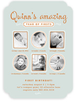 First Moments Children's Birthday Party Invitations