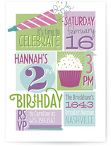 Whole Lotta Fun Children's Birthday Party Invitations