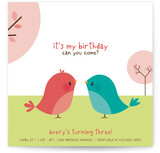 Happy Birdie to you Children&#039;s Birthday Party Invitations