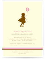 It&#039;s my party Children&#039;s Birthday Party Invitations