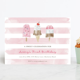 Sweet Treats Children's Birthday Party Invitations