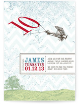 Incoming: 10th Birthday! Children&#039;s Birthday Party Invitations
