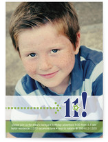 Birthday Star Boy Children&#039;s Birthday Party Invitations