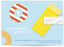 Splash Bash Children&#039;s Birthday Party Invitations