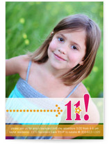 Birthday Star Girl Children's Birthday Party Invitations
