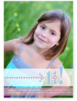 Birthday Star Girl Children&#039;s Birthday Party Invitations