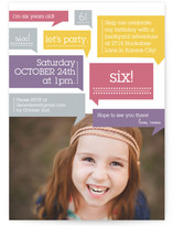 Thoughts On Birthday Girl Children&#039;s Birthday Party Invitations