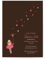make a wish Children&#039;s Birthday Party Invitations