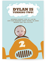Speed Racer Children&#039;s Birthday Party Invitations