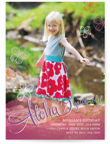 Aloha Children's Birthday Party Invitations