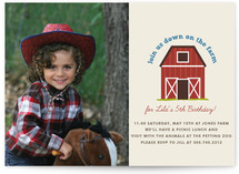 Down on the Farm Children's Birthday Party Invitations