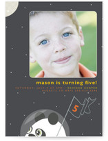 Intergalactic Children's Birthday Party Invitations